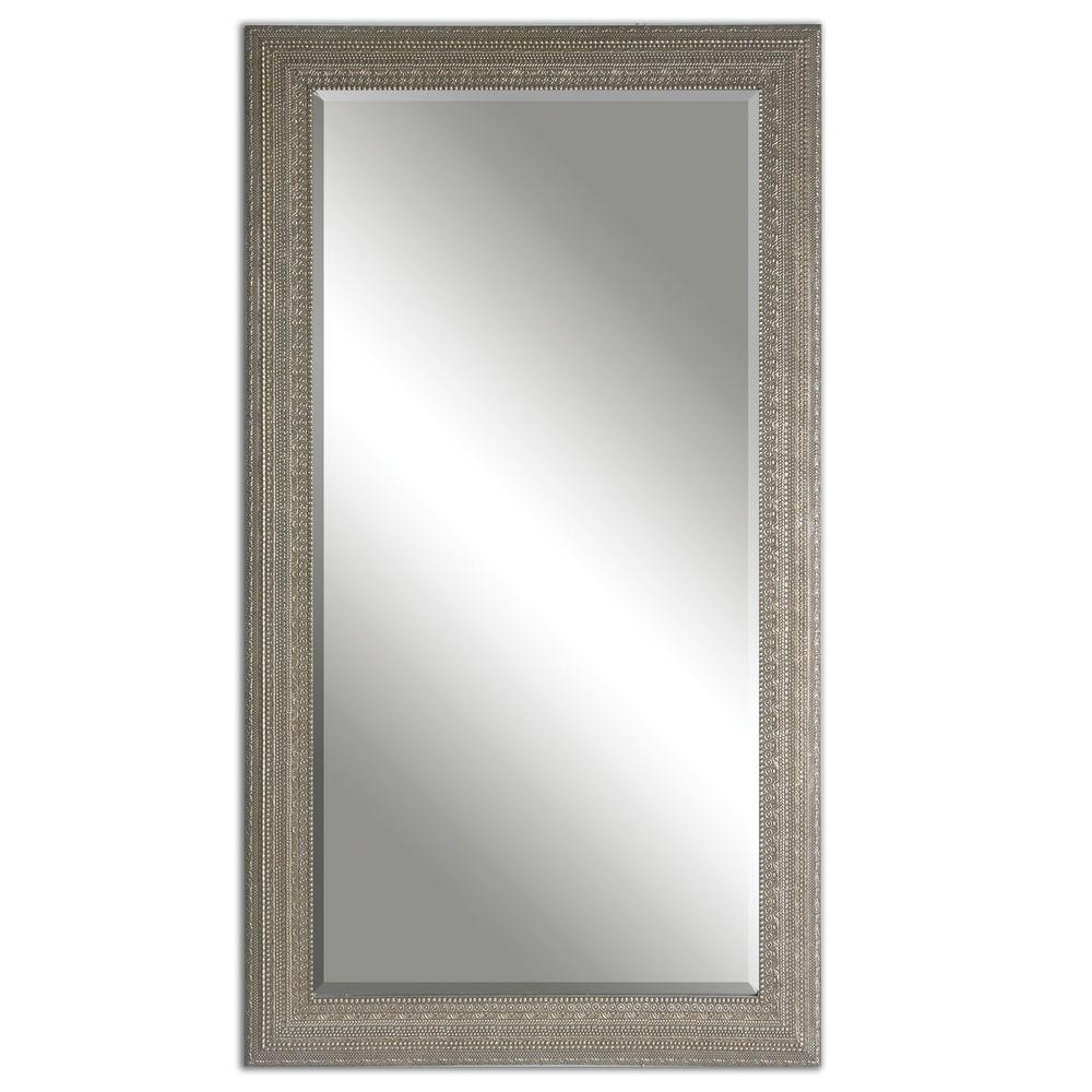 Uttermost Company - Malika Antique Silver Mirror