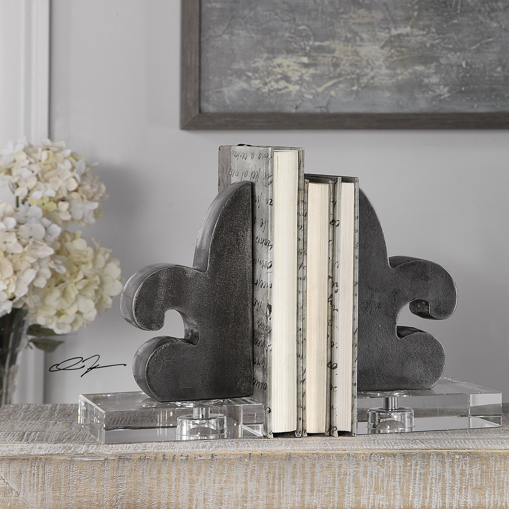 Uttermost Company - Lily Bookends, Set/2
