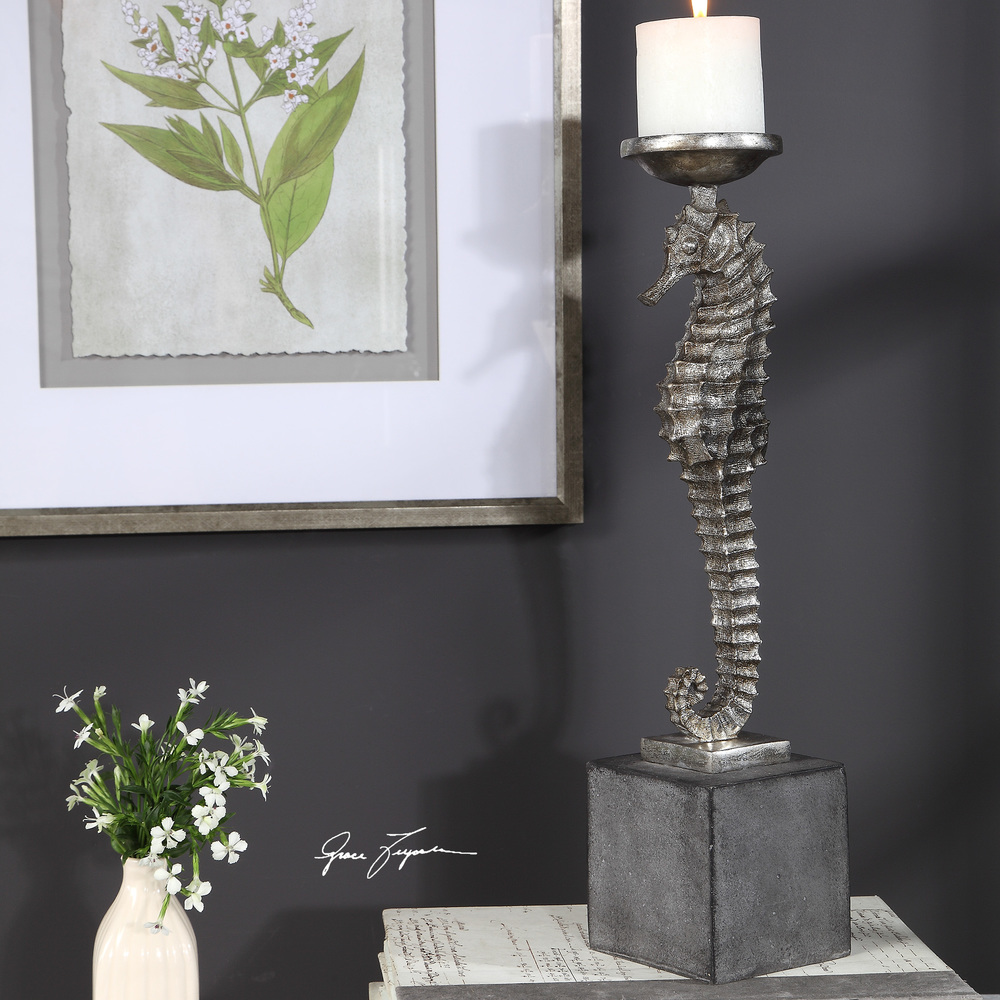 Uttermost Company - Seahorse Candle Holder