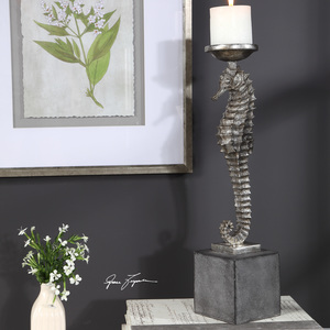 Thumbnail of Uttermost Company - Seahorse Candle Holder