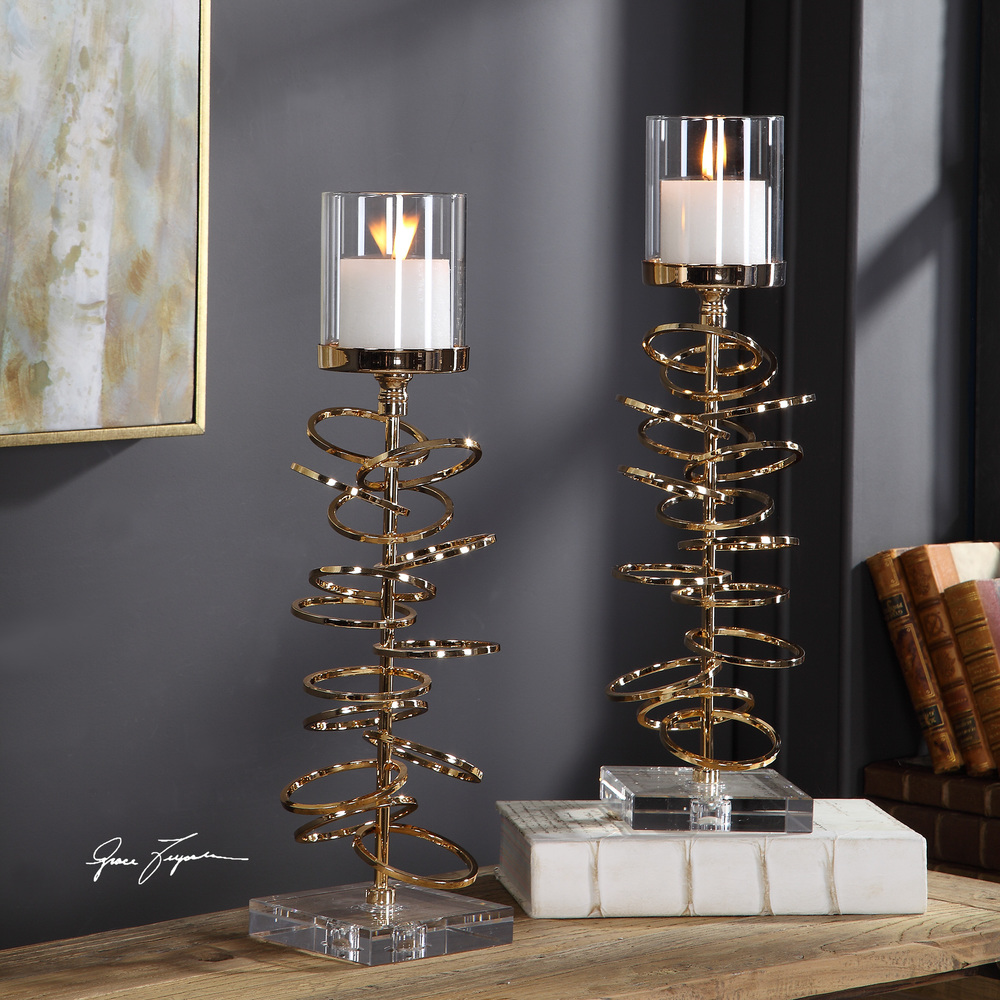 Uttermost Company - Tala Candle Holders, Set/2