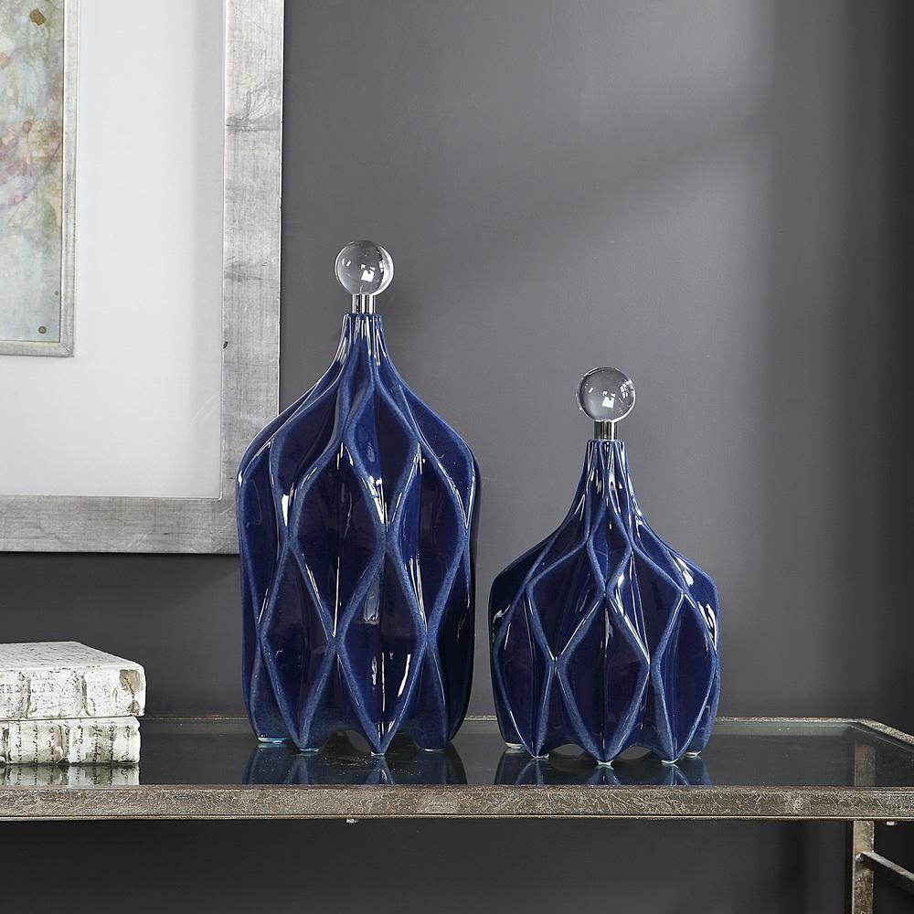 Uttermost Company - Klara Bottles, Set/2
