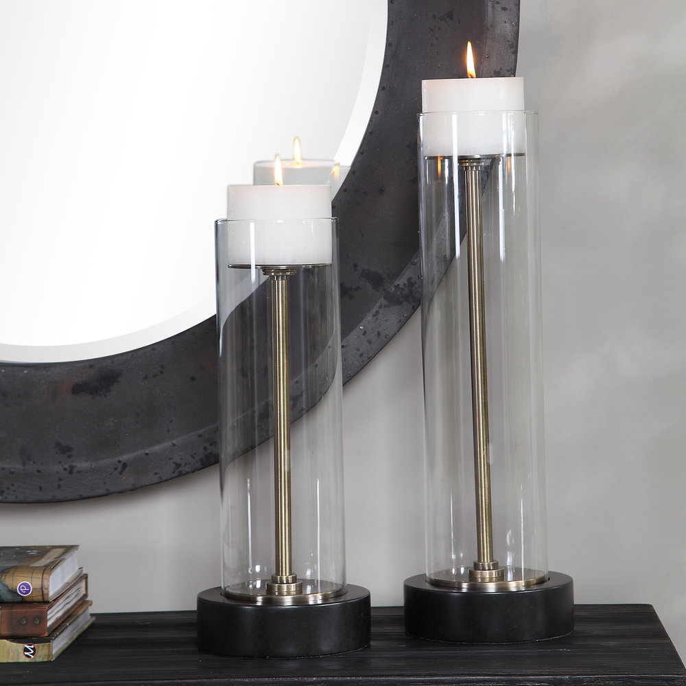 Uttermost Company - Charvi Candle Holders, Set/2