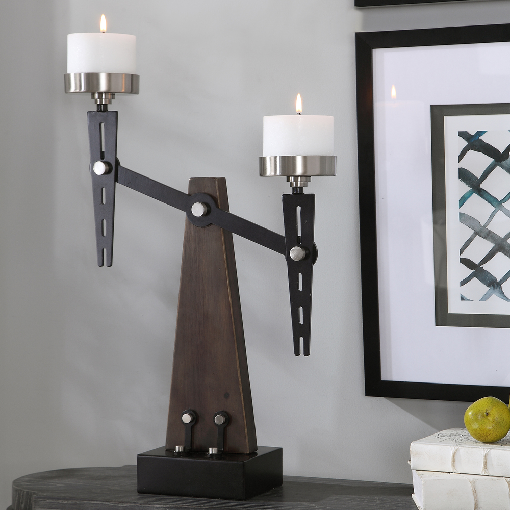 Uttermost Company - Cardiff Candle Holder