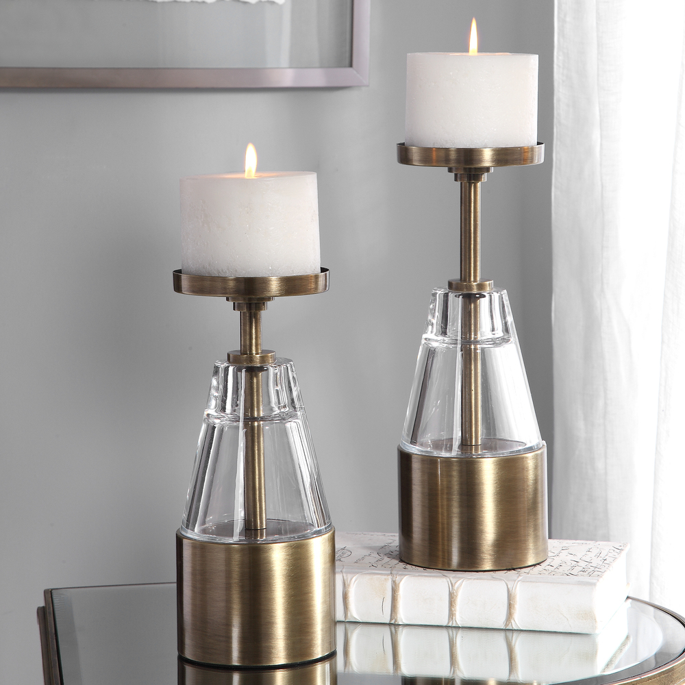 Uttermost Company - Theirry Candle Holders, Set/2