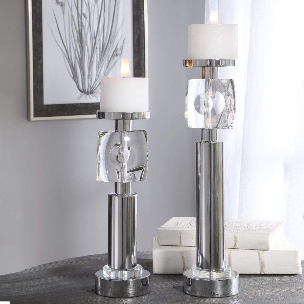 Uttermost Company - Kyrie Candle Holders, Set/2