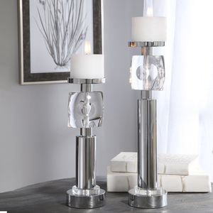 Thumbnail of Uttermost Company - Kyrie Candle Holders, Set/2