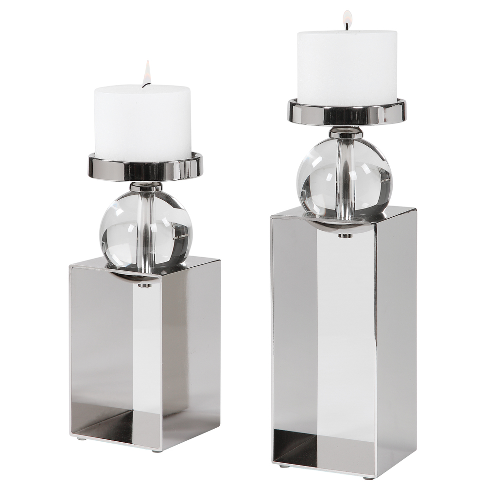 Uttermost Company - Lucian Candle Holders, Set/2