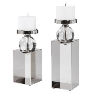Thumbnail of Uttermost Company - Lucian Candle Holders, Set/2