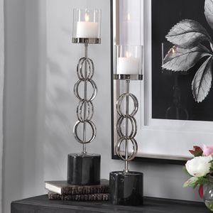 Thumbnail of Uttermost Company - Esme Candle Holders, Set/2