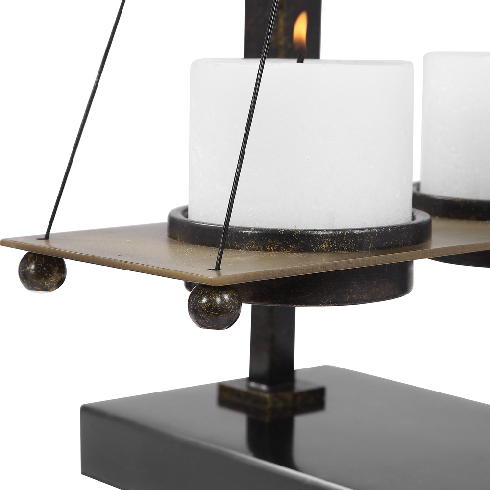 Uttermost Company - Breckenridge Candle Holder