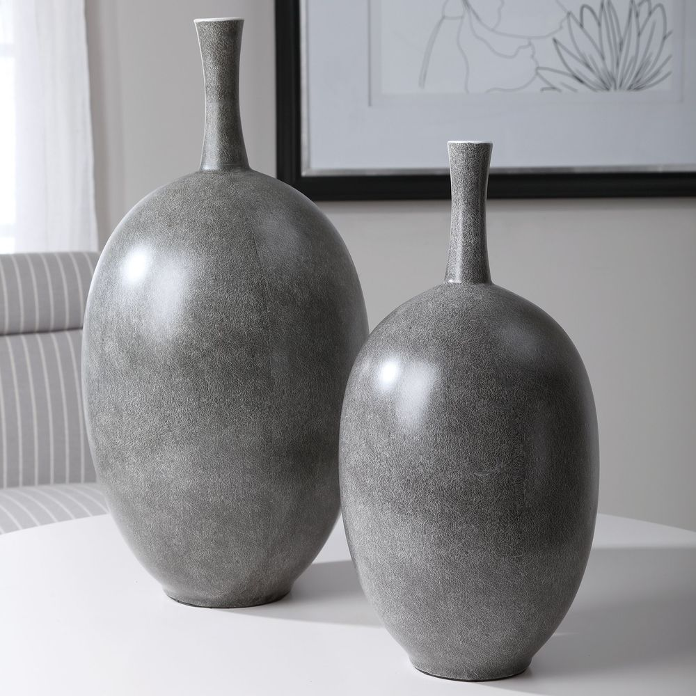 Uttermost Company - Riordan Modern Vases, Set/2