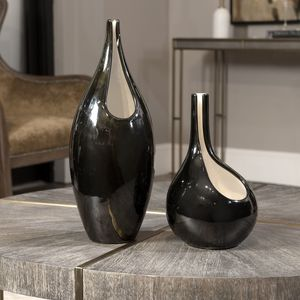 Thumbnail of Uttermost Company - Lockwood Modern Vases, Set/2