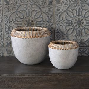 Thumbnail of Uttermost Company - Aponi Concrete Ray Bowls, Set/2