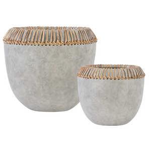 Thumbnail of Uttermost Company - Aponi Concrete Ray Bowls, Set/2