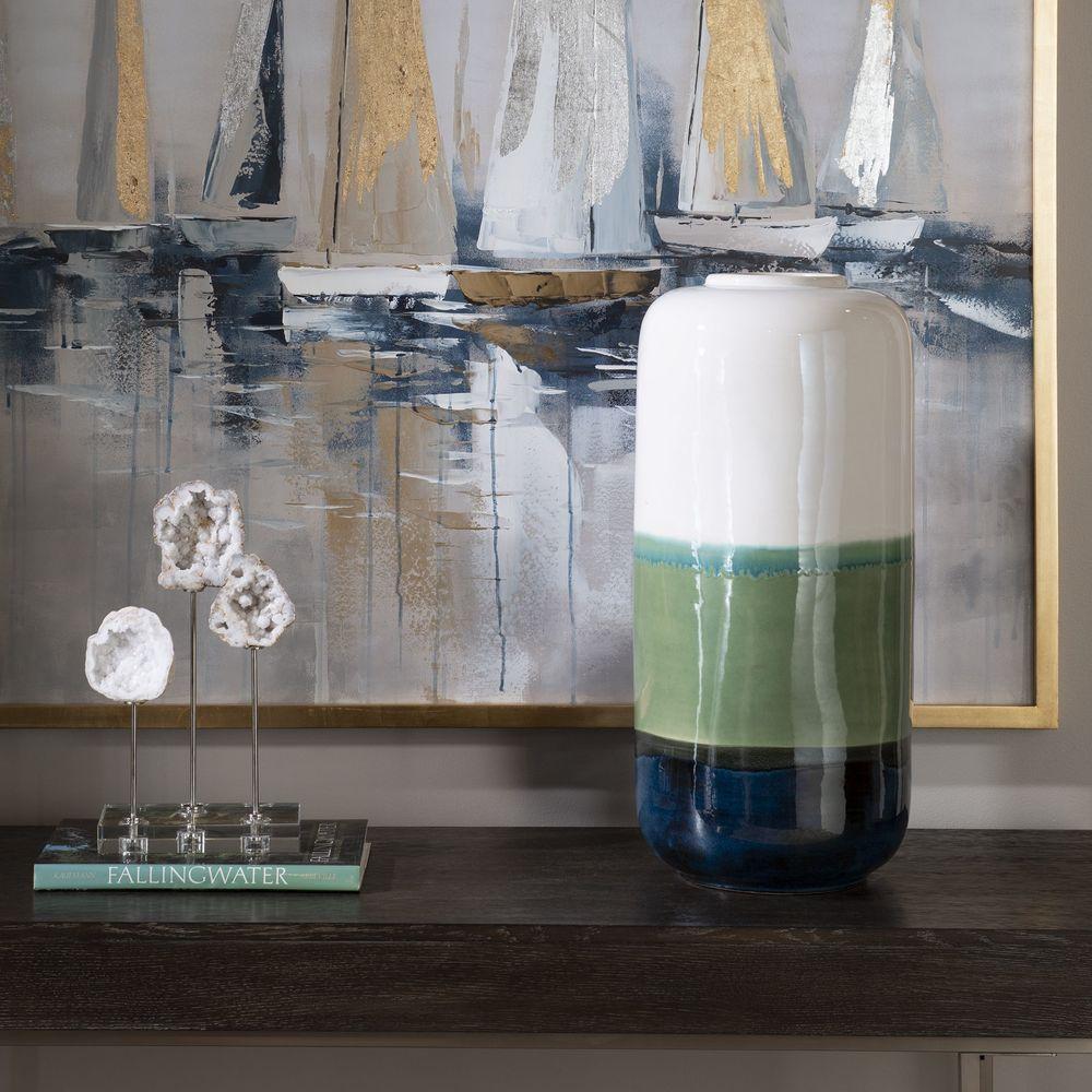 Uttermost Company - Keone Coastal Vase
