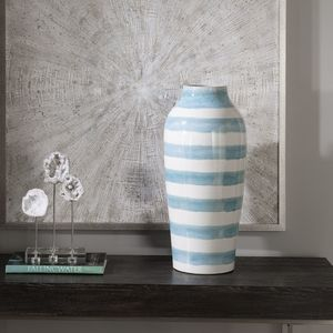 Thumbnail of Uttermost Company - Ortun Striped Vase