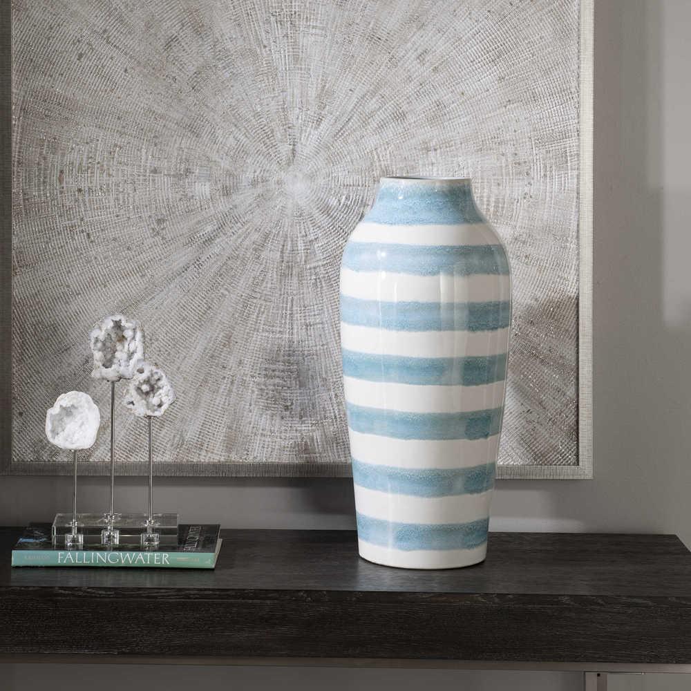 Uttermost Company - Ortun Striped Vase