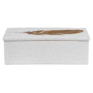 Thumbnail of Uttermost Company - Nephele White Stone Box