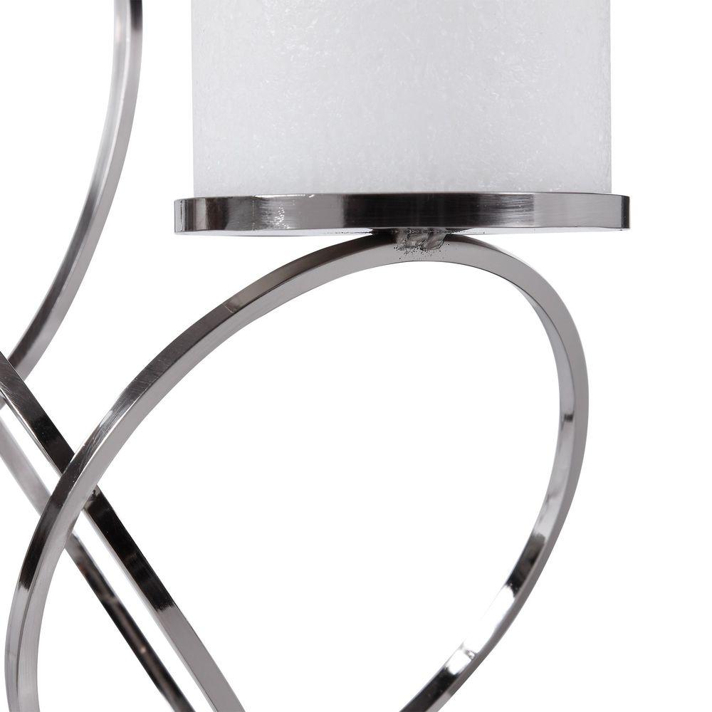 Uttermost Company - Kiernan Nickel Ring Candle Holder