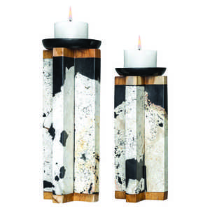 Thumbnail of Uttermost Company - Illini Candle Holders, Set of 2