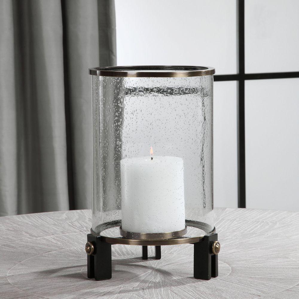 Uttermost Company - Faraday Hurricane Candle Holder