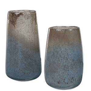 Thumbnail of Uttermost Company - Ione Seeded Glass Vases, Set/2