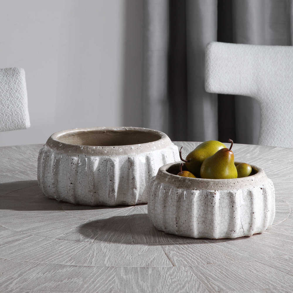 Uttermost Company - Azariah Distressed Bowls, Set/2