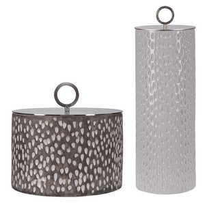 Thumbnail of Uttermost Company - Cyprien Ceramic Containers, Set/2
