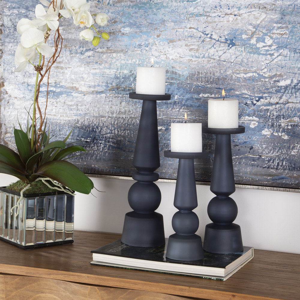 Uttermost Company - Cassiopeia Candle Holders, Set of 3