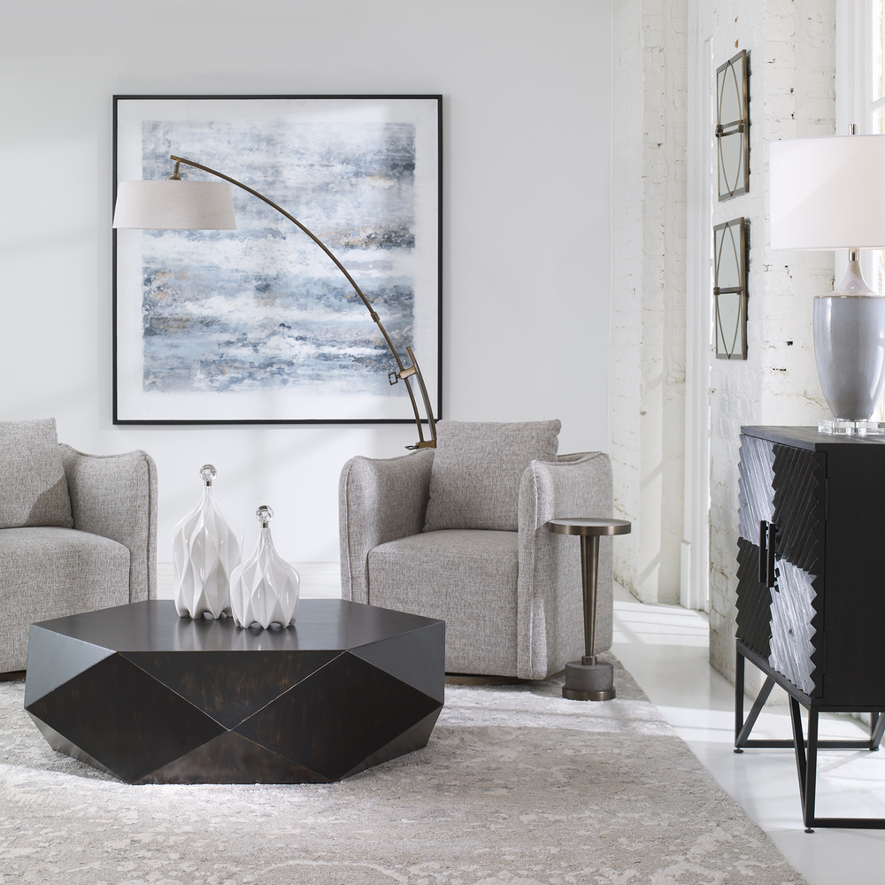 Uttermost Company - Klara White Bottles, Set/2