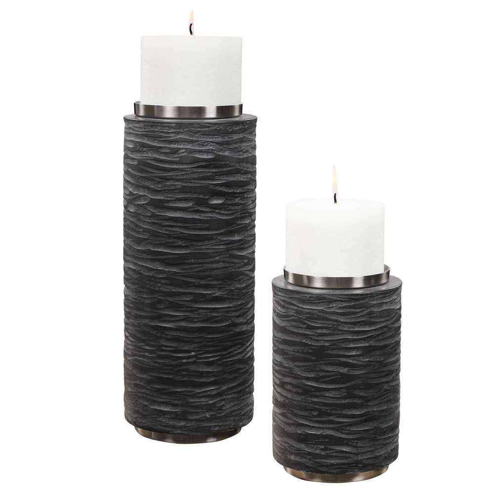 Uttermost Company - Stathmore Candle Holders, Set/2