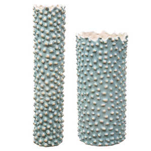 Thumbnail of Uttermost Company - Ciji Aqua Vases, Set/2