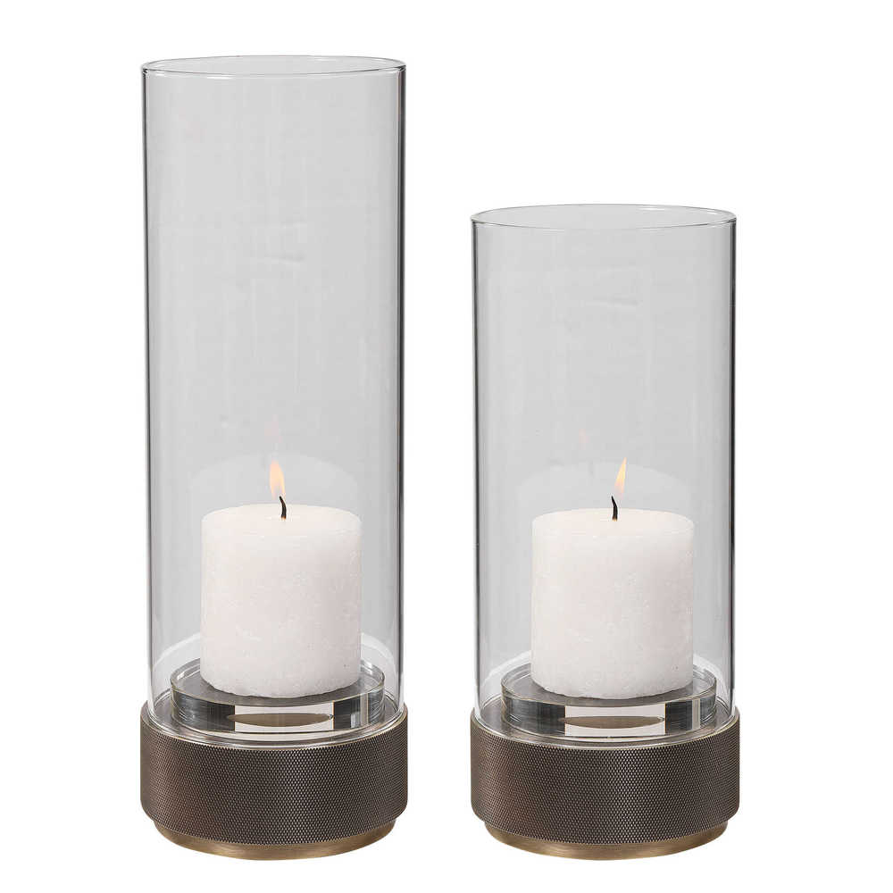 Uttermost Company - Sandringham Candle Holders, Set/2