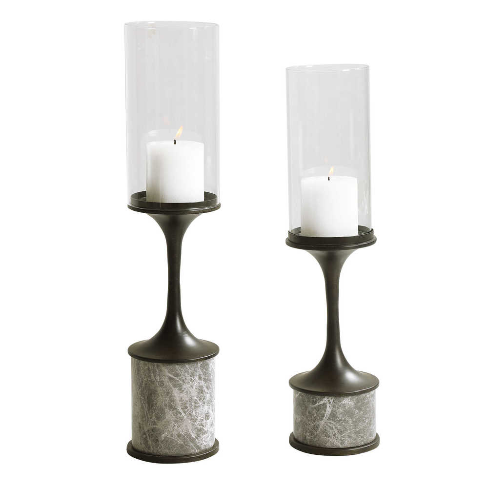Uttermost Company - Deane Candle Holders, Set/2