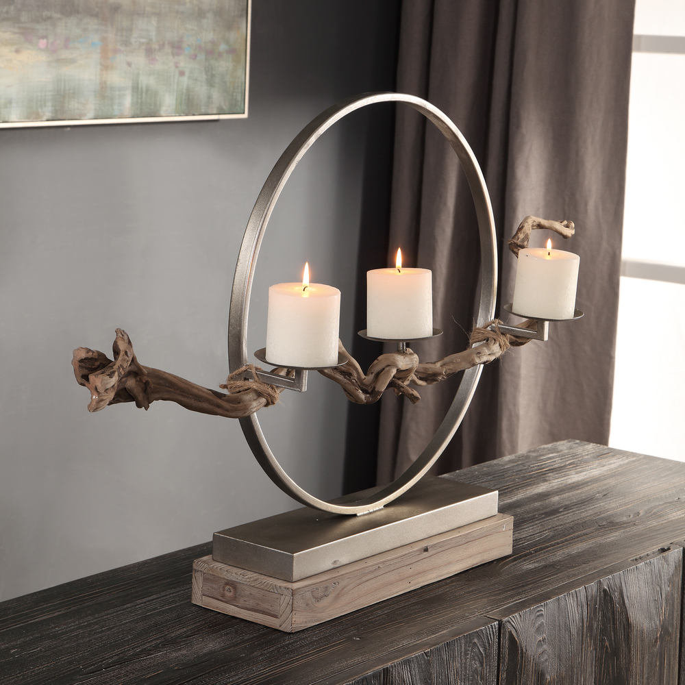 Uttermost Company - Ameera Candle Holder