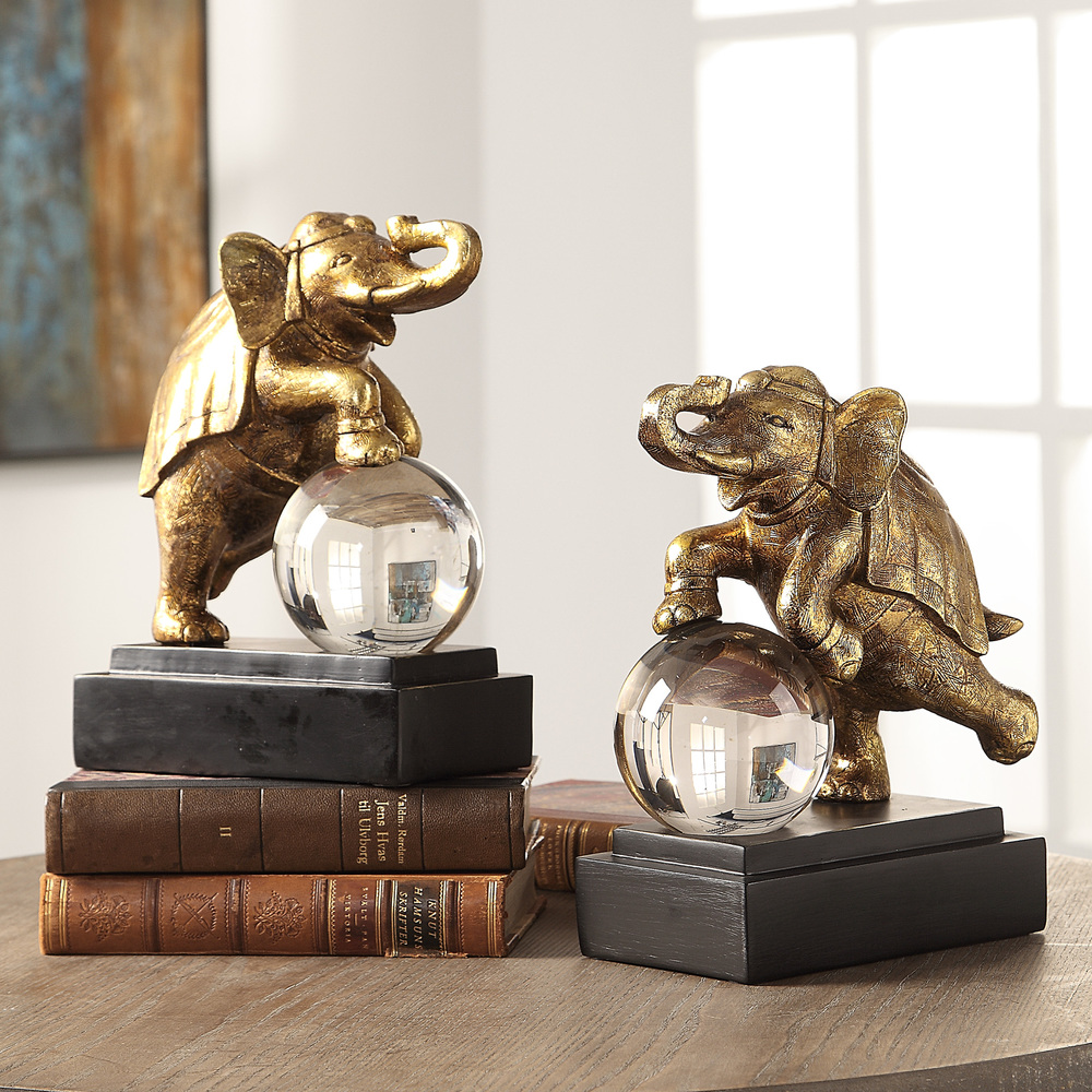 Uttermost Company - Circus Act Bookends, Set/2