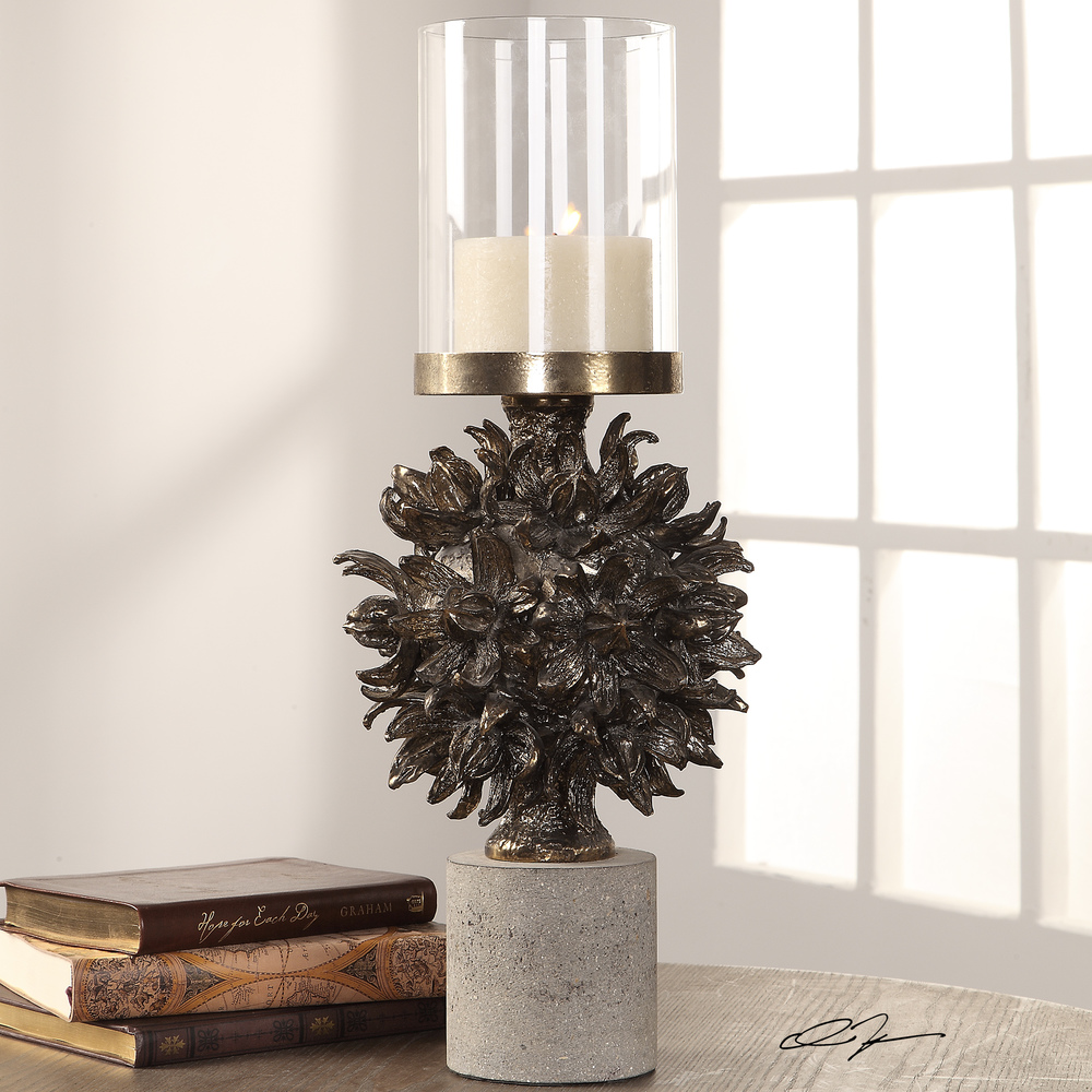 Uttermost Company - Autograph Tree Candle Holder