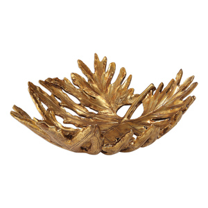 Thumbnail of Uttermost Company - Oak Leaf Metallic Gold Bowl