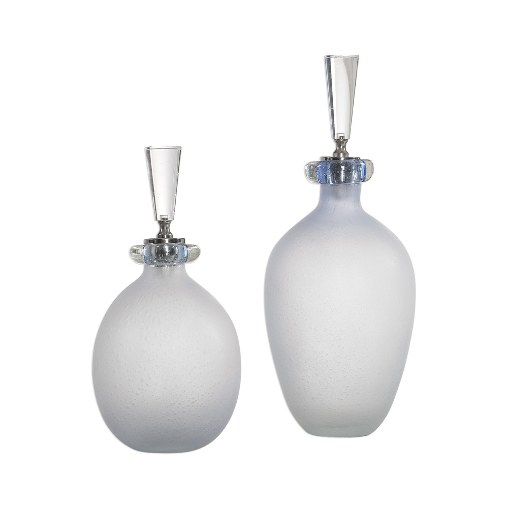 Uttermost Company - Leah Bottles, Set/2