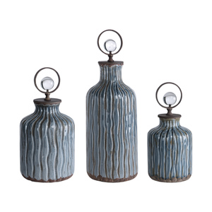 Thumbnail of Uttermost Company - Mathias Bottles, Set/3
