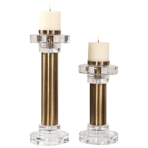 Thumbnail of Uttermost Company - Leslie Candle Holders, Set/2