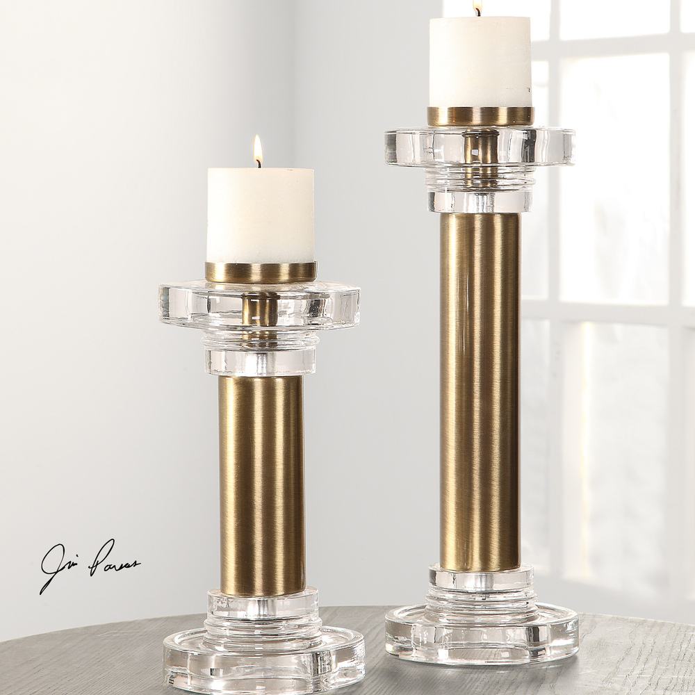Uttermost Company - Leslie Candle Holders, Set/2