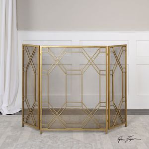 Thumbnail of Uttermost Company - Rosen Fireplace Screen