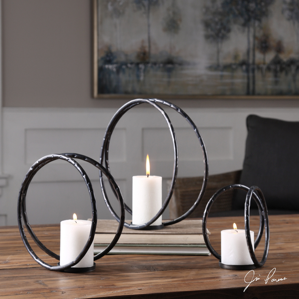 Uttermost Company - Pina Candle Holders, Set/3
