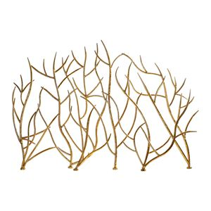 Thumbnail of Uttermost Company - Gold Branches Decorative Fireplace Screen