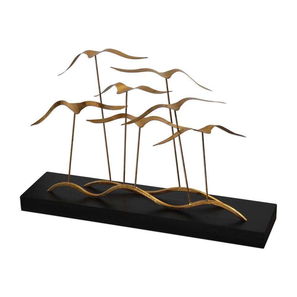 Uttermost Company - Flock of Seagulls Sculpture