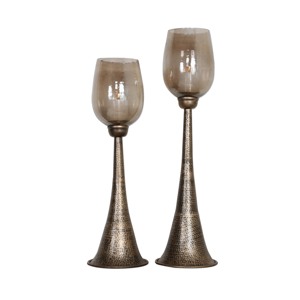 Uttermost Company - Badal Candle Holders, Set/2