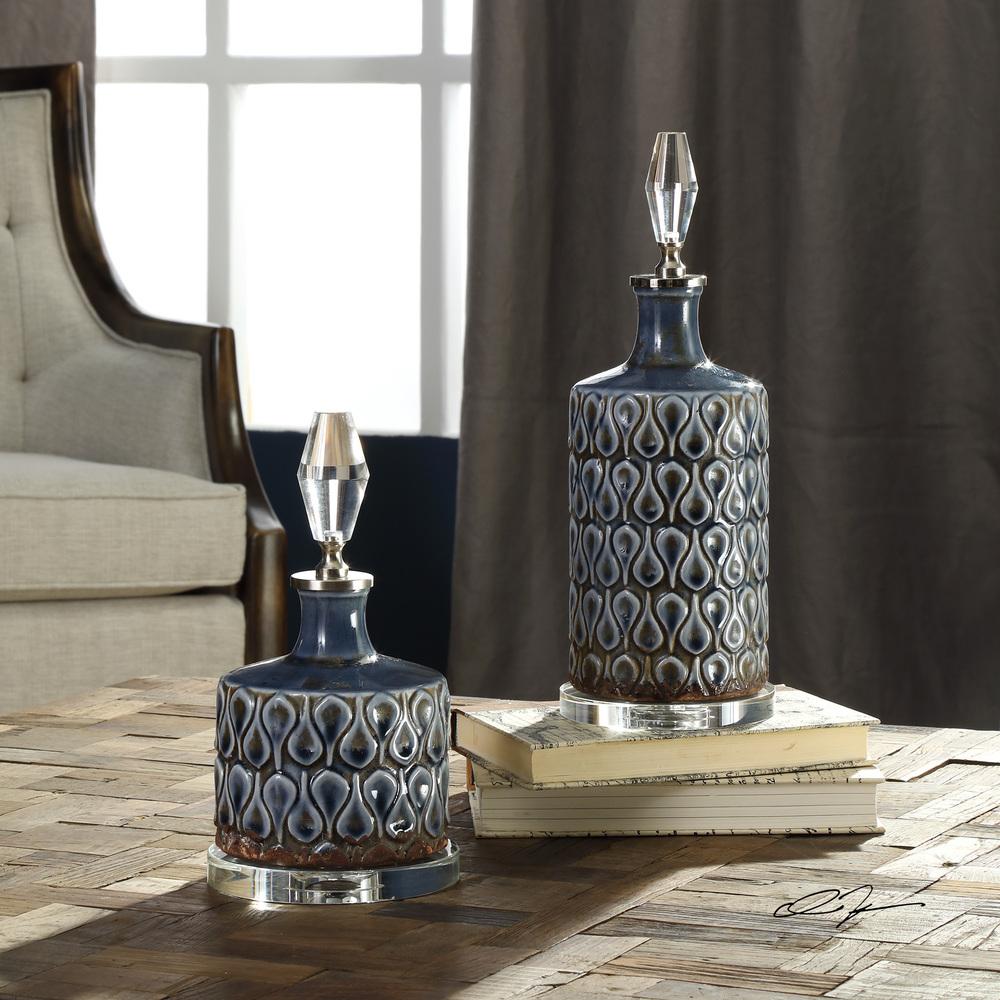 Uttermost Company - Varuna Bottles, Set/2