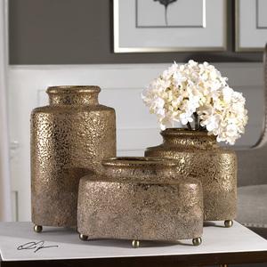 Thumbnail of Uttermost Company - Kallie Vases, Set/3